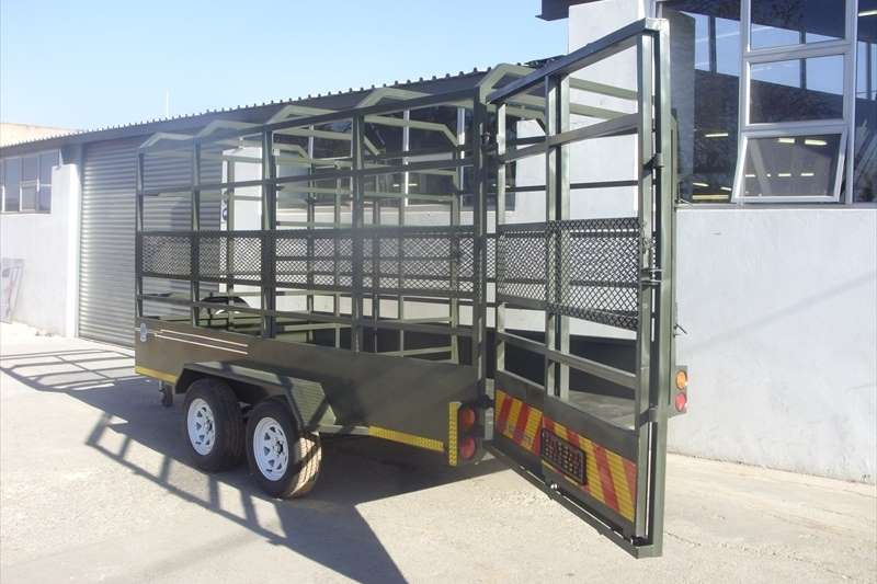 Livestock trailers Cattle Sheep Livestock Cattle Trailers / Double De Agricultural trailers