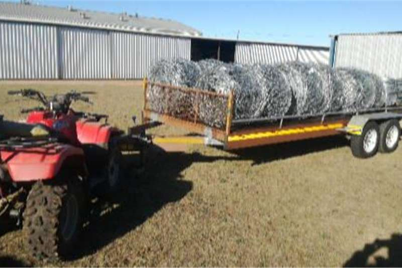 Livestock trailers Cattle, Sheep, Pigs, Goats ect, 4 ton double axle Agricultural trailers