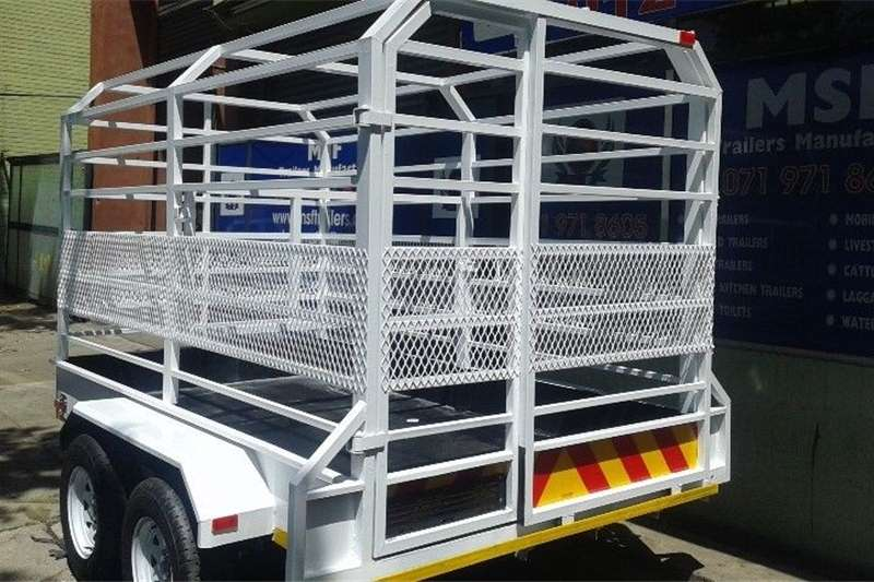 Agricultural trailers Livestock trailers CATTLE TRAILER / LIVESTOCK TRAILER