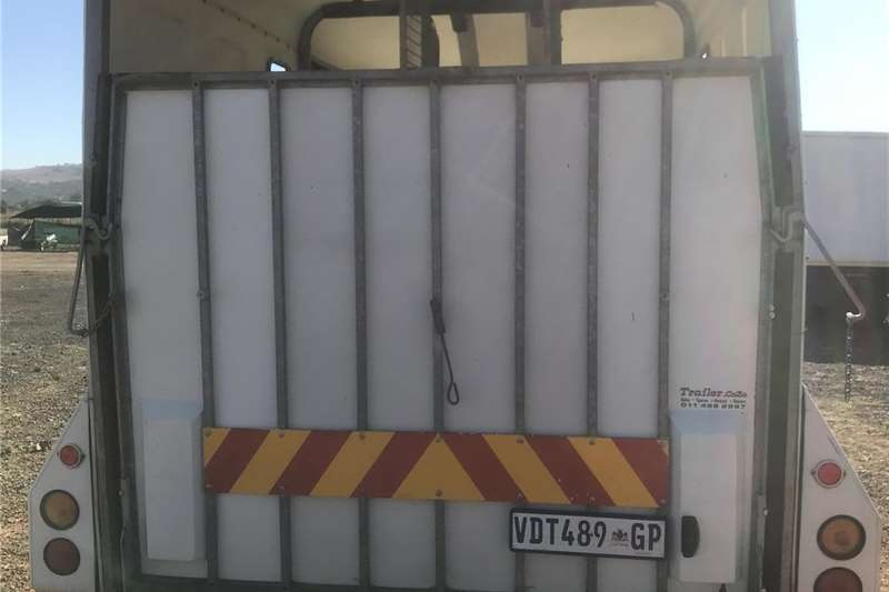 Livestock trailers Chrisbox Derby Horse Box Trailer Agricultural trailers