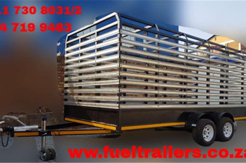 Livestock trailers Custom Cattle & Livestock Trailer Agricultural trailers