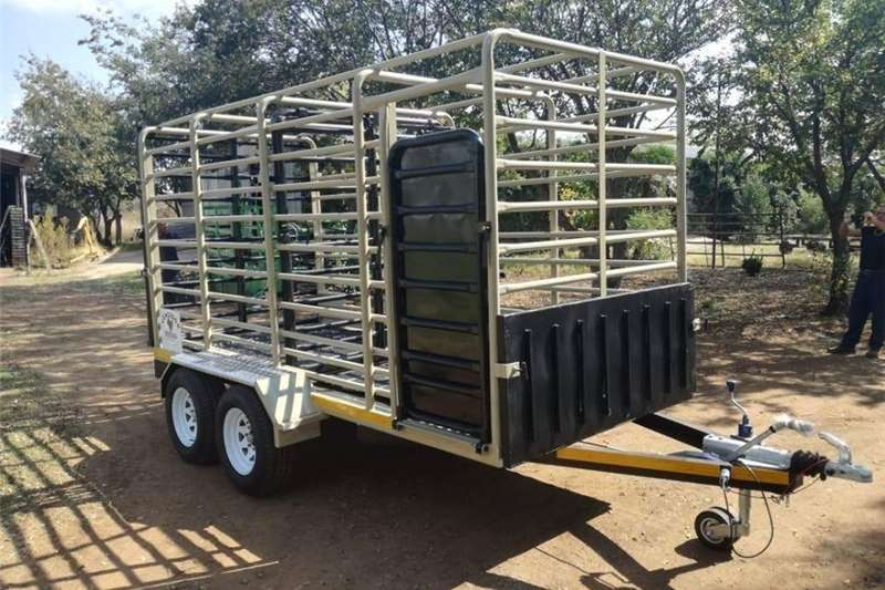 Agricultural trailers Livestock trailers FUEL TRAILERS CATTLE TRAILER 2020