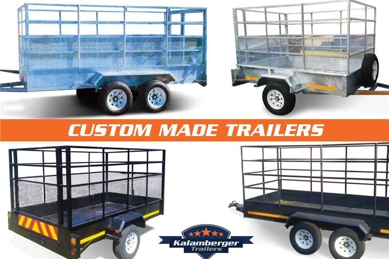 Agricultural trailers Livestock trailers Kalamberger Multipurpose/Cattle Trailers
