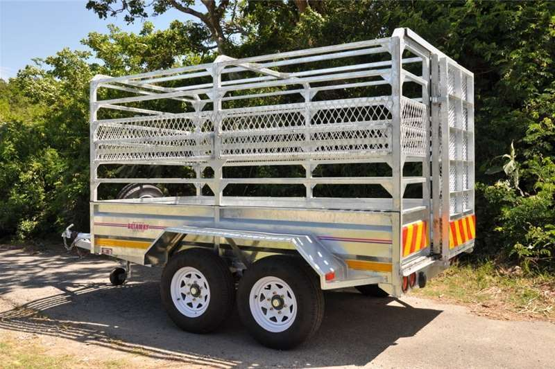 Livestock trailers Livestock 4m X 1.8 X 1.8m Cattle Trailer / Sheep t Agricultural trailers