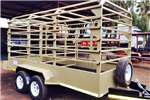 Livestock trailers Livestock Cattle Trailer 21,000 GVWR Dual 3 7K Ax Agricultural trailers