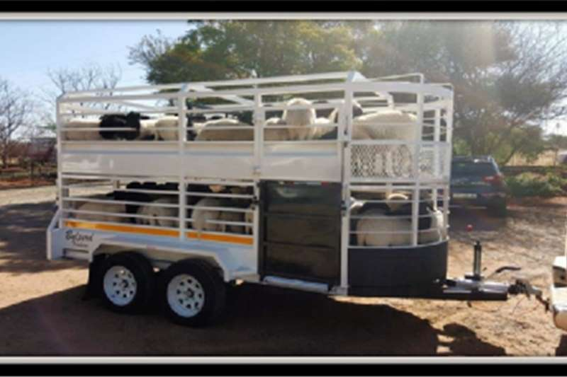 Livestock trailers Livestock trailers for sale With Cattle Trailer 4M Agricultural trailers