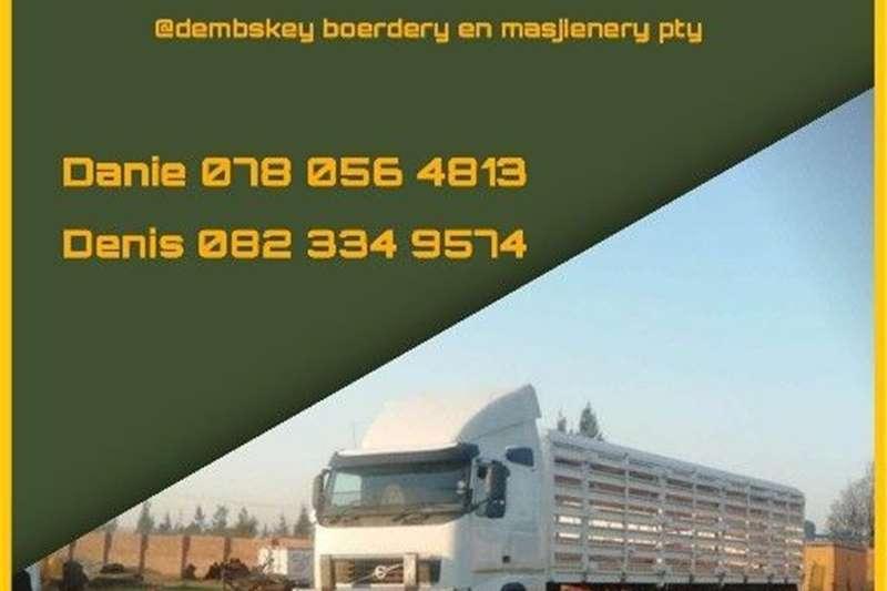 Livestock trailers Livestock transportation Agricultural trailers
