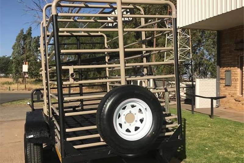 Livestock trailers TRAILERS CATTLE TRAILER 3,4 and 5M Agricultural trailers