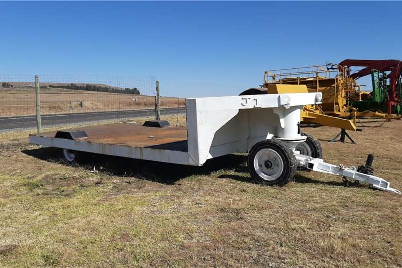 Low Bed Farm Trailer Agricultural trailers