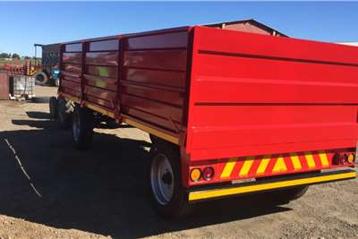 Mass side trailers Brand new 10 ton Bullk trailers Agricultural trailers