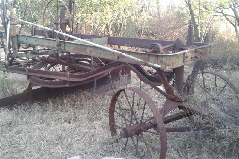 Agricultural trailers old grader