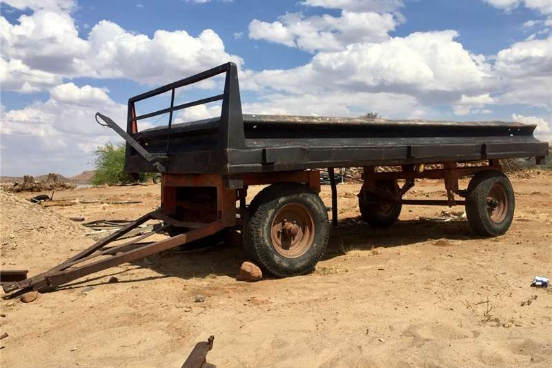 Agricultural trailers Other agricultural trailers Four wheel farm trailer