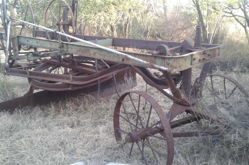 Agricultural trailers Other agricultural trailers old grader