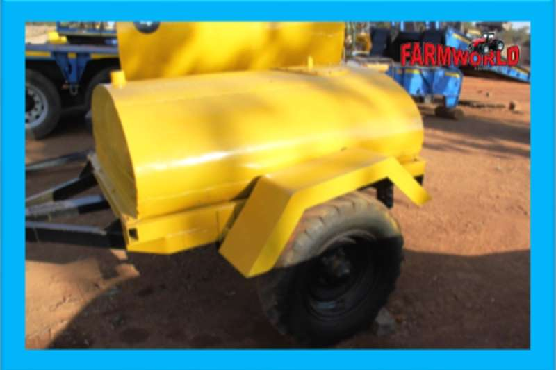 Agricultural trailers Other agricultural trailers S2538 Yellow Colour Pre Owned Trailer 1200 Litre 2