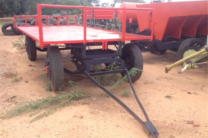 Agricultural trailers Other agricultural trailers U Make 4 Wheel 5 Ton Flatbed Trailer / 4 Wiel 5 T