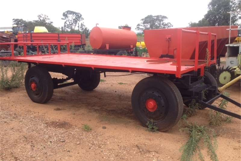 Agricultural trailers Other agricultural trailers U Make 4 Wheel 5 Ton Flatbed Trailer / 4 Wiel 5 To