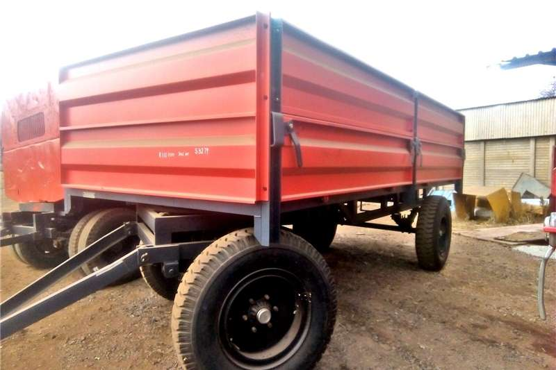 Agricultural trailers Other agricultural trailers Verrigter 10 Ton Bulk Trailer / 10 Ton Massa Wa Ne