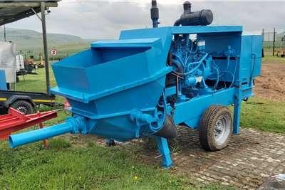 Putzmeister BSA 1409D Concrete Pump Agricultural trailers