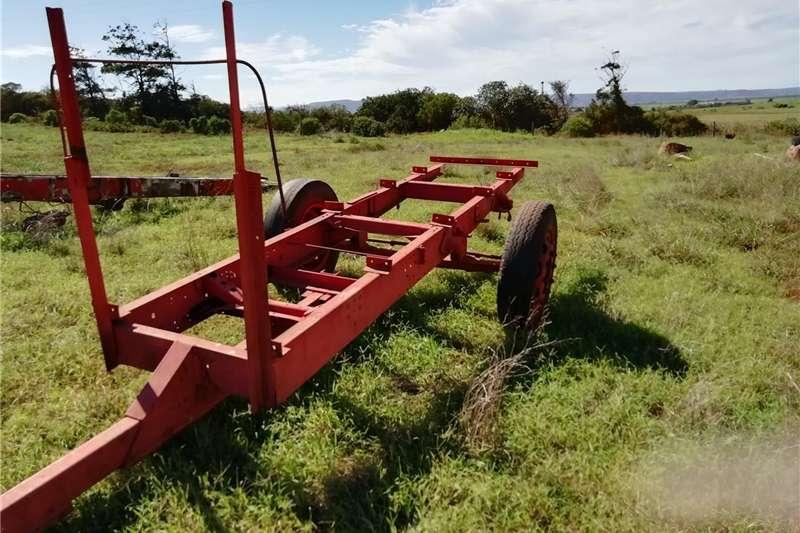 Agricultural trailers Raamwerk vir sleepwa