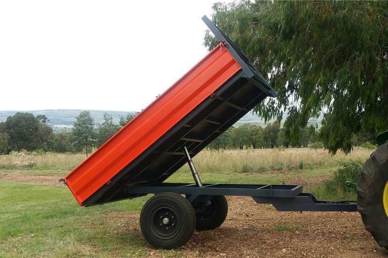 Agricultural trailers Tipper trailer 3.5Ton Verrigter tipper trailer.