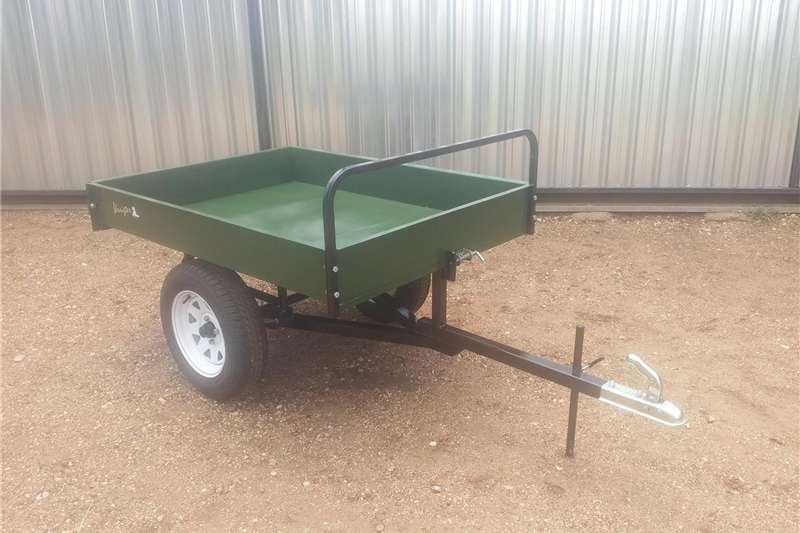 Agricultural trailers Tipper trailer Atv quad trailer