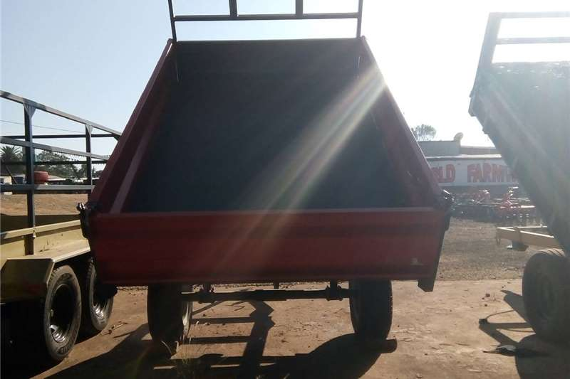 Agricultural trailers Tipper trailer Red Verrigter 5 Ton Tip Trailer / 5 Ton Tip Wa
