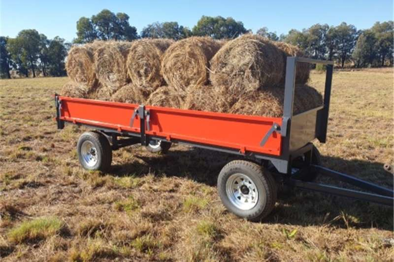Tipper trailers 3 Ton tip trailer New Agricultural trailers