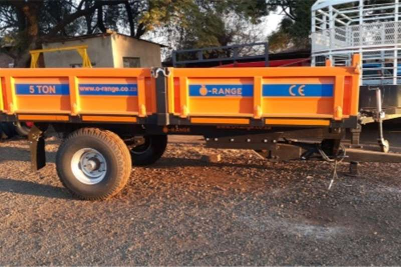 Tipper trailers 5 Ton Tipper New Agricultural trailers