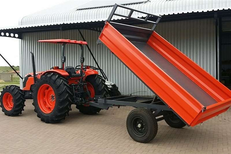 Agricultural trailers Tipper trailers 5Ton Verrigter tipper trailer