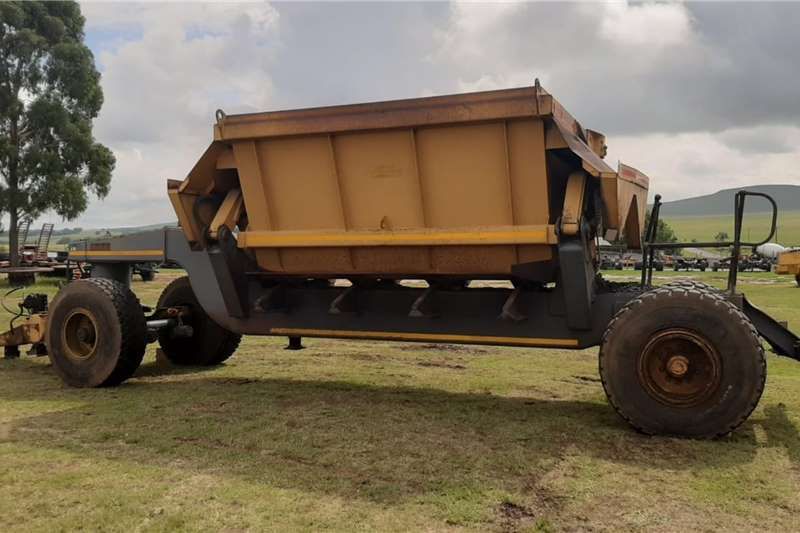 Tipper trailers Bell Dumper Type Trailer Agricultural trailers