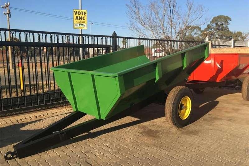 Tipper trailers DRAGON FARMING EQUIPMENT Agricultural trailers