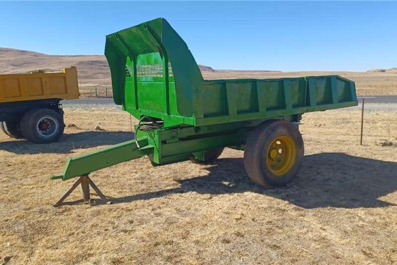 Tipper trailers Farm Tipper Trailer Agricultural trailers