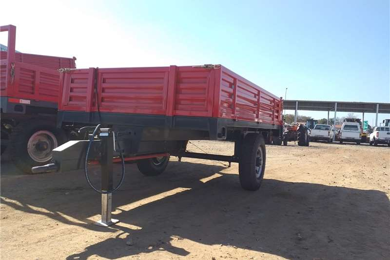 Agricultural trailers Tipper trailers New 5 Ton single axle tipper trailer