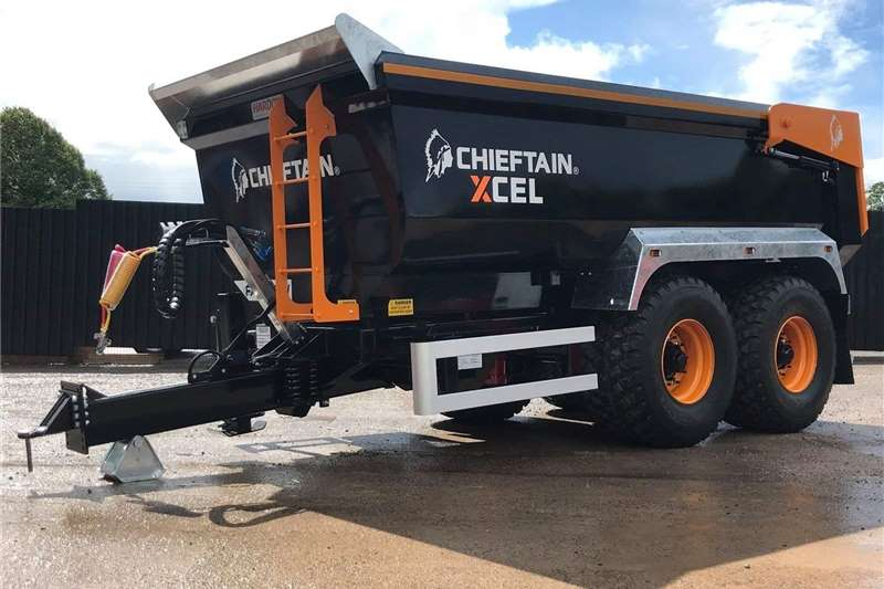 Agricultural trailers Tipper trailers New Chieftain 25 Ton Hardox Dump Trailer For Sale