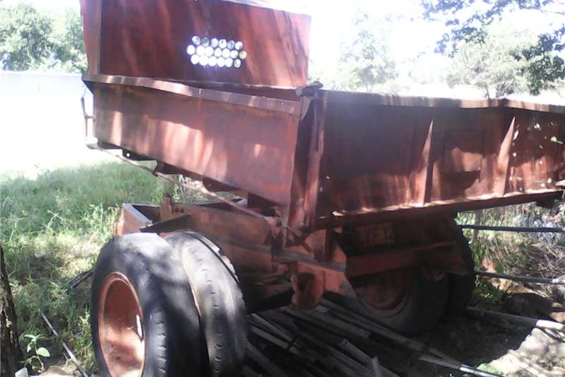 Agricultural trailers Tipper trailers Nice and strong