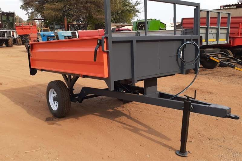 Tipper trailers Red Verrigter 2 Ton Tipper New Trailer Agricultural trailers