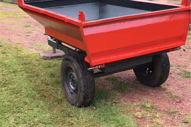 Tipper trailers Tip Trailer with Hydraulic Rams Agricultural trailers