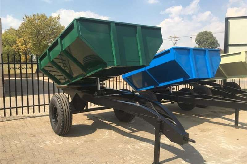 Tipper trailers TIP TRAILERS 3 TON UP TO 10 TON Agricultural trailers