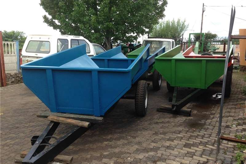 Tipper trailers TIP TRAILERS DRAGON Agricultural trailers