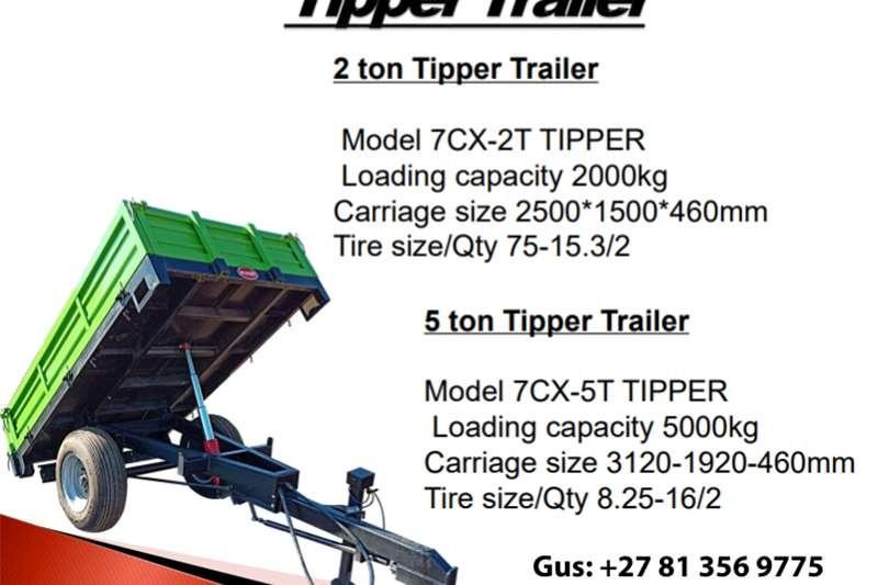 Tipper trailers Tipper Trailer Agricultural trailers