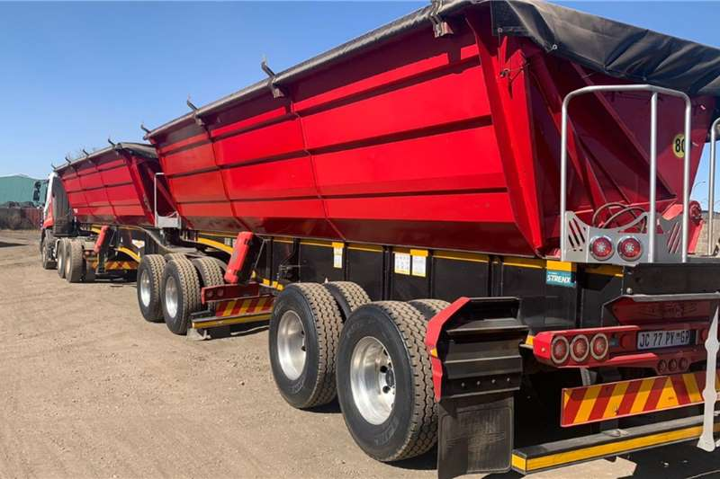 Tipper trailers Trailord SA 45 Cube Agricultural trailers