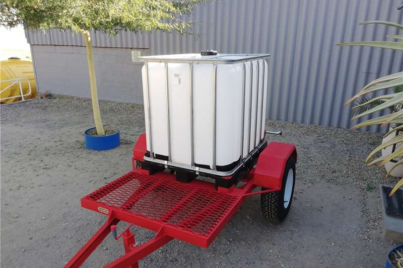 Agricultural trailers Water bowsers 1000lt water trailer