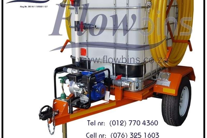 Water bowsers NEW 1000Lt   2500Lt Water Bowser / Fire Fighter Tr Agricultural trailers