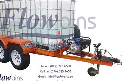 Water bowsers NEW 600 to 2500Lt Water Bowser / Firefighter Trail Agricultural trailers