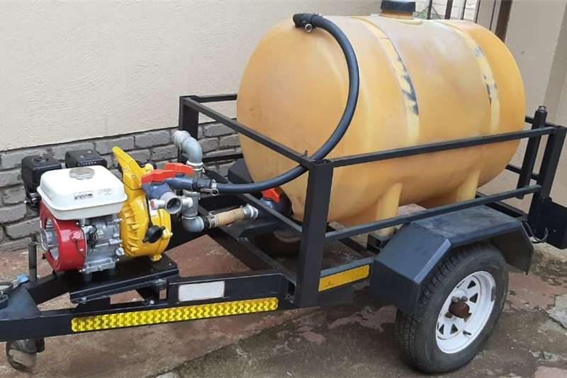 Water bowsers water, diesel, parrafin, etc pump trailer Agricultural trailers