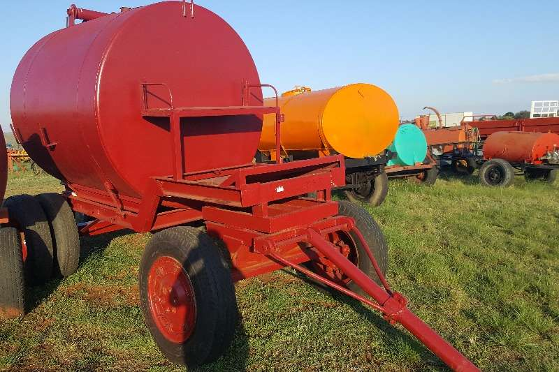 Agricultural trailers Water trailers 4000 litre water trailer