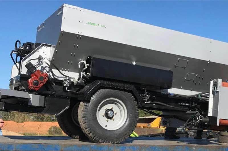 Agristaal Spreaders Trailed spreaders AS3050 / AS4050 Flexi Spread 2020