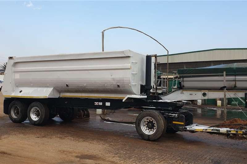 Alutip Agricultural trailers Tipper trailers Aluminium Drawbar Trailer