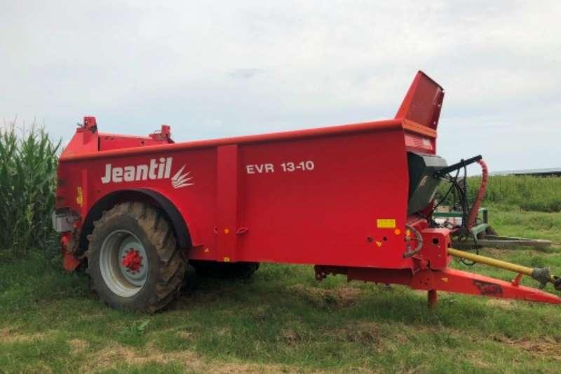 Amazone Spreaders Jeantil EVR 13/10 manure spreader 2015