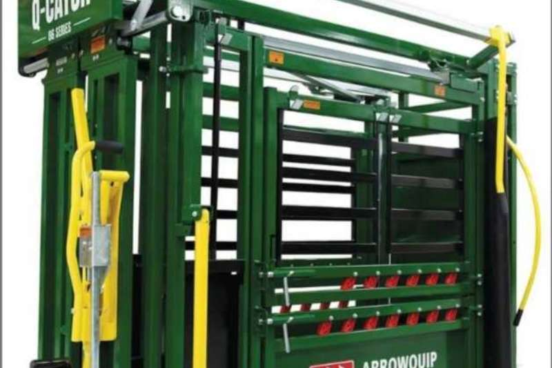 Arrowquip Livestock handling equipment Livestock crushes and equipment ArrowQuip Q Catch 86 without Vet gate